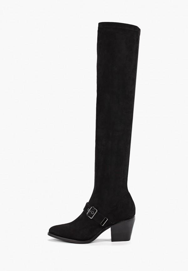 женские ботфорты grand style, черные