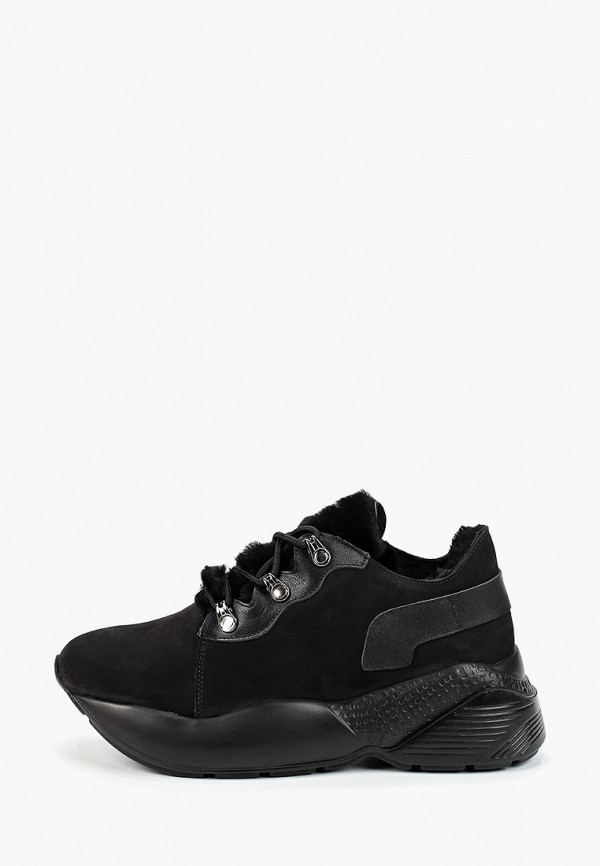 женские кроссовки grand style, черные