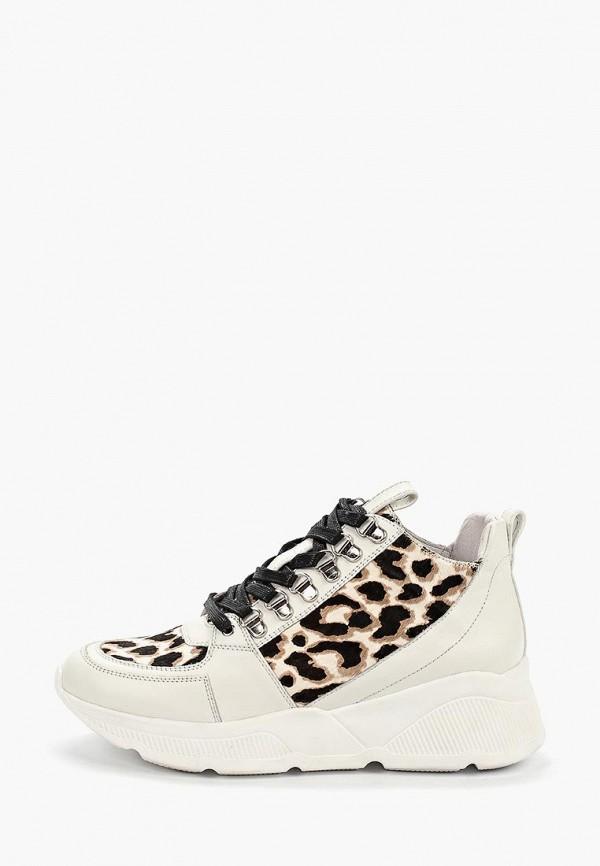 женские кроссовки grand style, белые