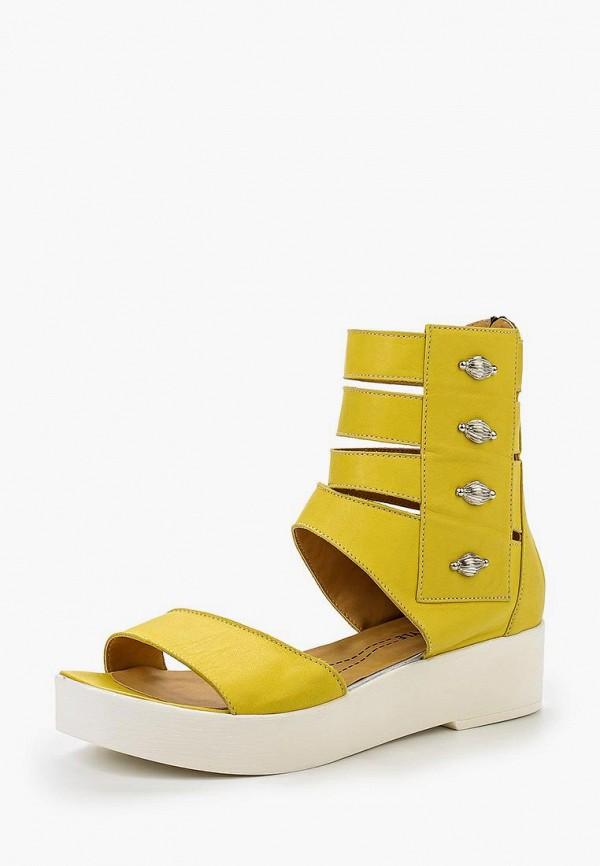 Босоножки Grand Style, GR025AWHVM79, желтый, Весна-лето 2016  - купить со скидкой