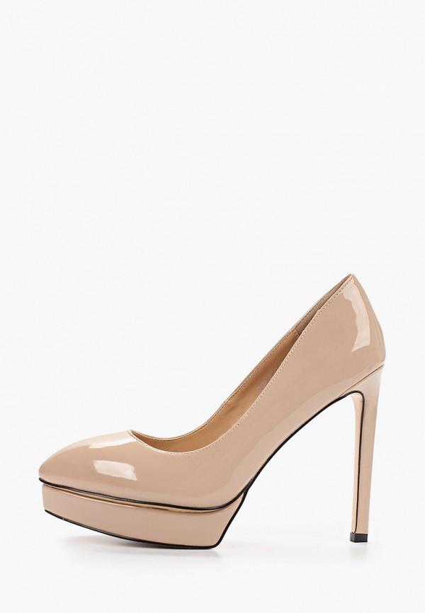 женские туфли grand style, бежевые