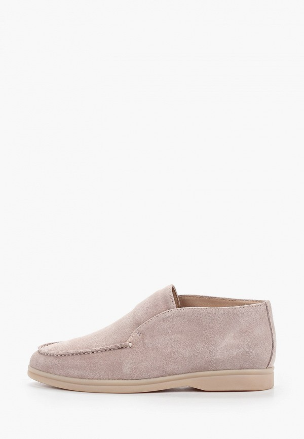 женские ботинки grand style, бежевые