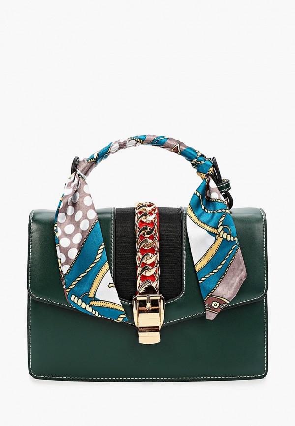 женская сумка grand style, зеленая