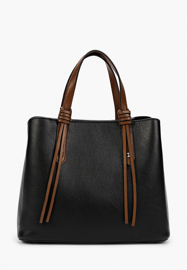 женская сумка с ручками grand style, коричневая
