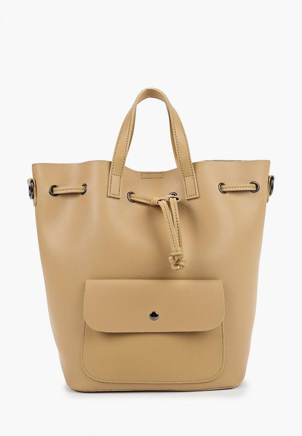 женский рюкзак grand style, бежевый