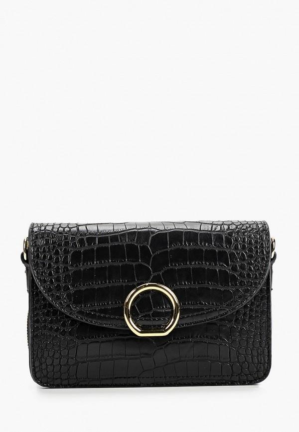 женская сумка через плечо grand style, черная