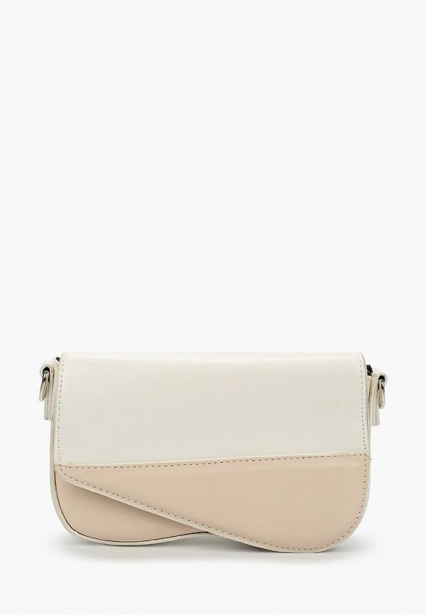 женская сумка через плечо grand style, белая