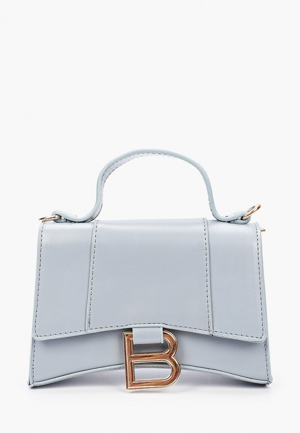 женская сумка через плечо grand style, голубая