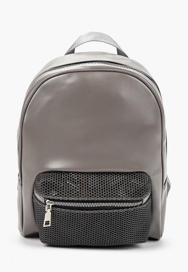 женский рюкзак grand style, серый
