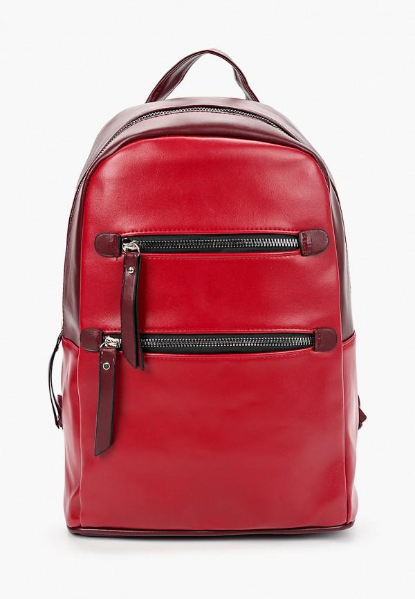 женский рюкзак grand style, бордовый