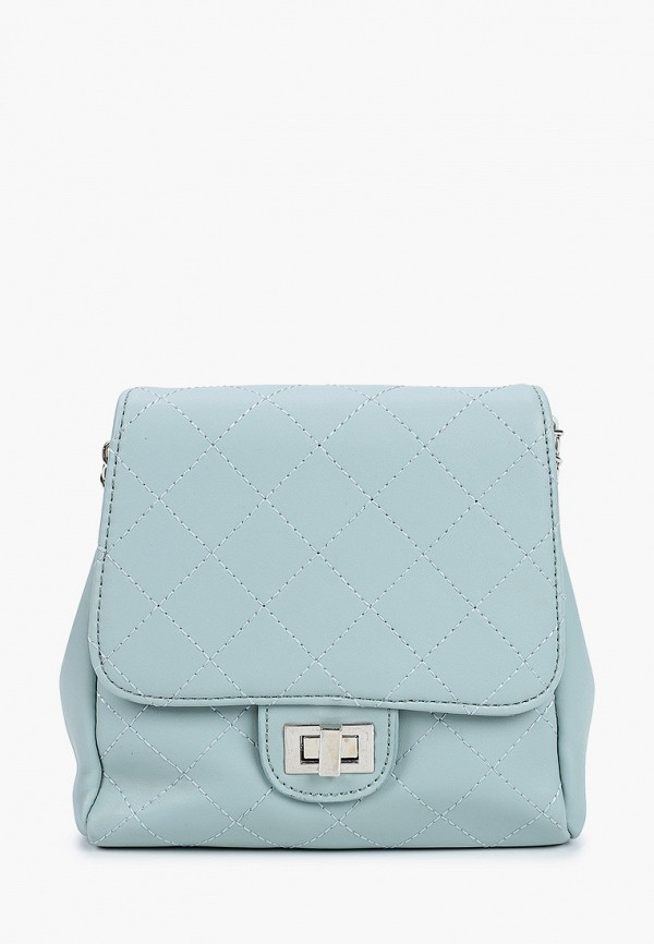 женская сумка через плечо grand style, бирюзовая