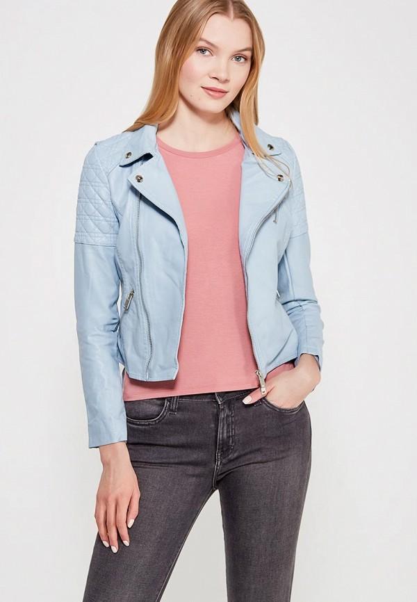 Купить Куртка кожаная Grand Style, GR025EWAGEK6, голубой, Весна-лето 2018