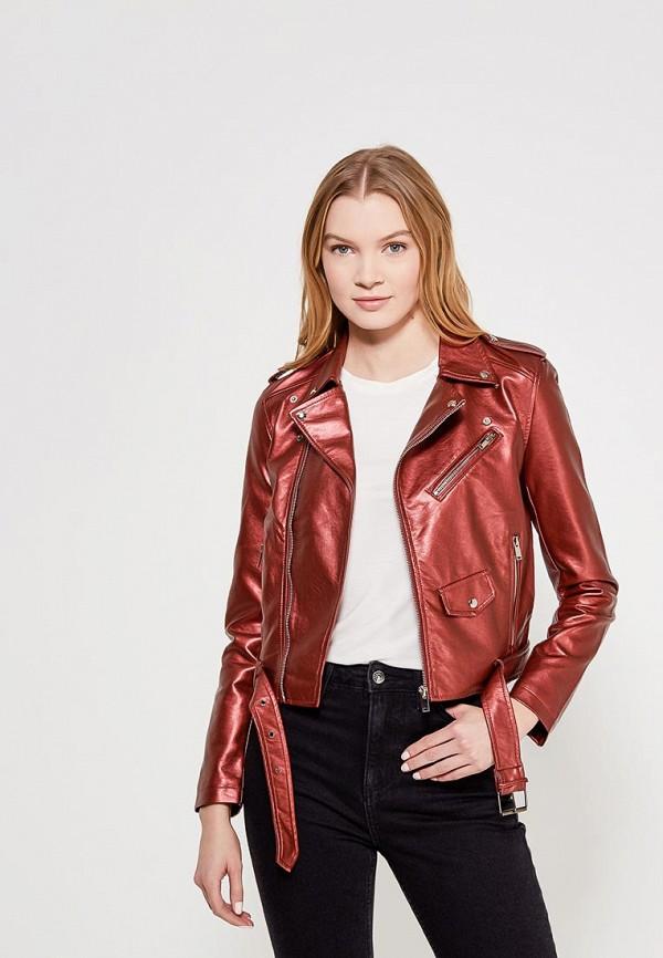 Купить Куртка кожаная Grand Style, gr025ewagek9, красный, Весна-лето 2018