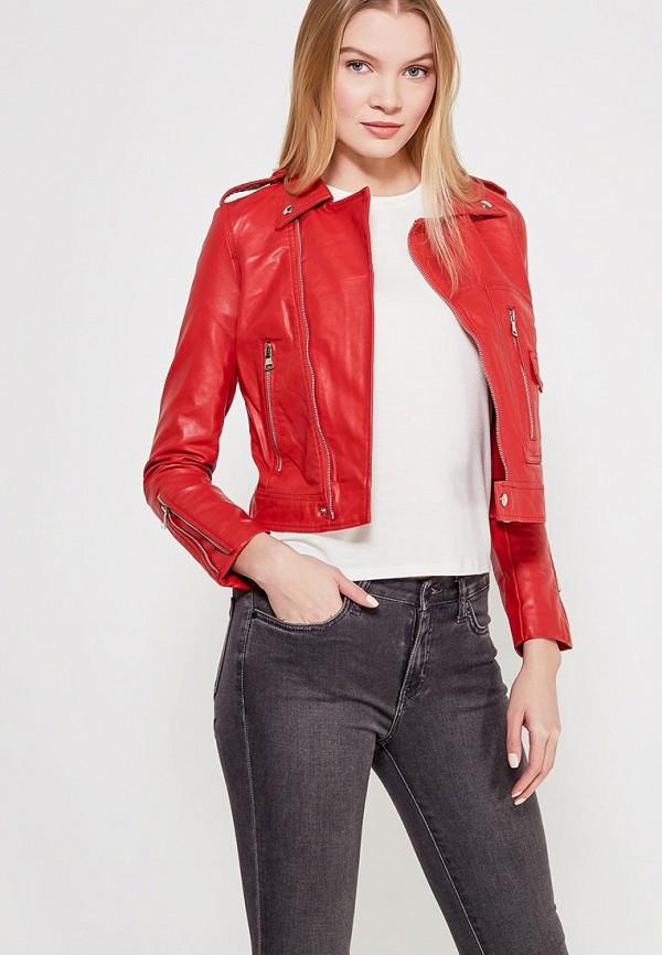 где купить Куртка кожаная Grand Style Grand Style GR025EWAGEM4 дешево