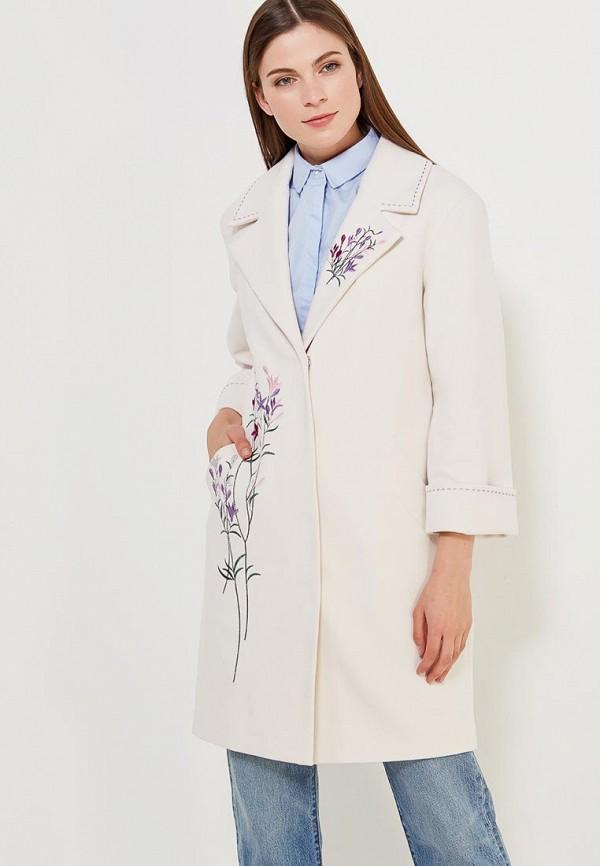 Пальто Grand Style, gr025ewagep6, белый, Весна-лето 2018  - купить со скидкой