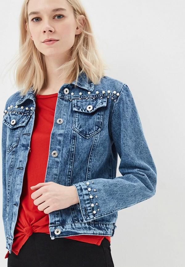 Купить Куртка джинсовая Grand Style, gr025ewbdfg5, голубой, Весна-лето 2018