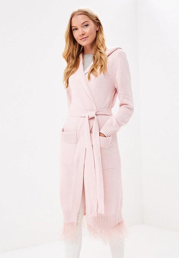 Купить Кардиган Grand Style, GR025EWBOGE6, розовый, Осень-зима 2018/2019