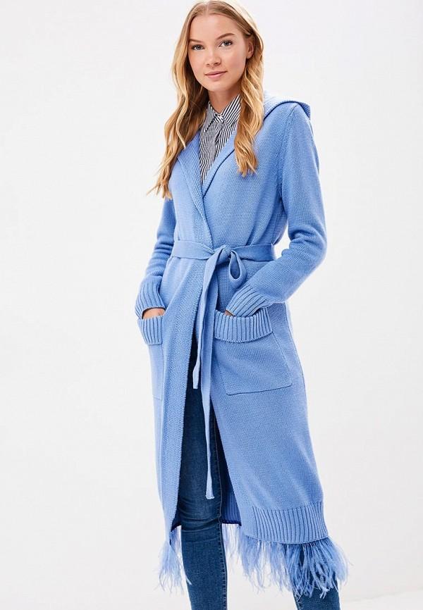 Купить Кардиган Grand Style, GR025EWBOGE7, голубой, Осень-зима 2018/2019