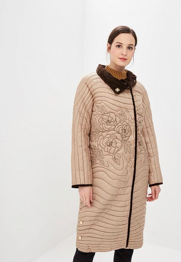 женская куртка grand style, бежевая