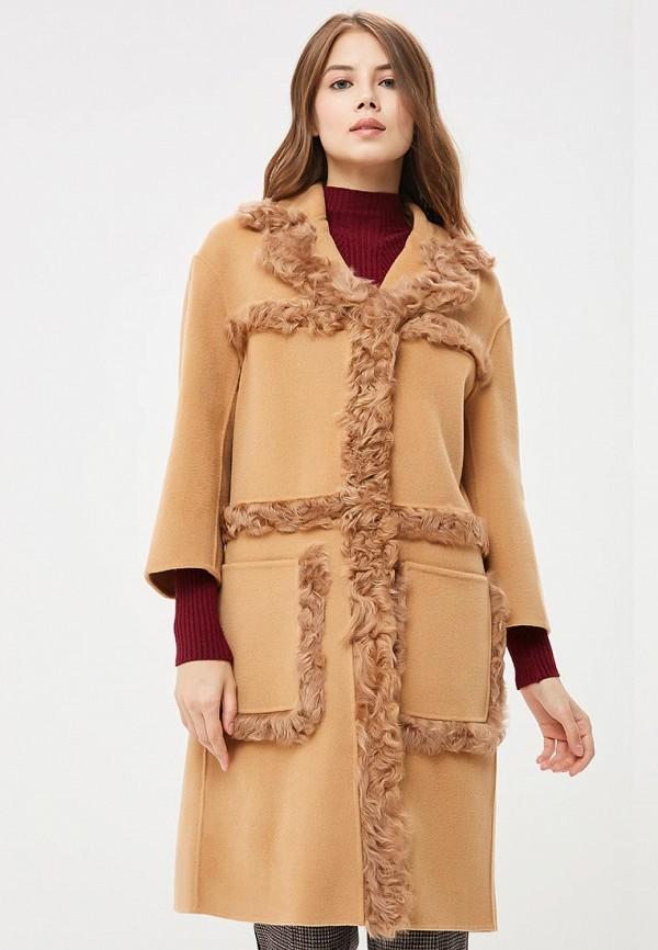 Купить Пальто Grand Style, GR025EWCFYZ4, бежевый, Осень-зима 2018/2019