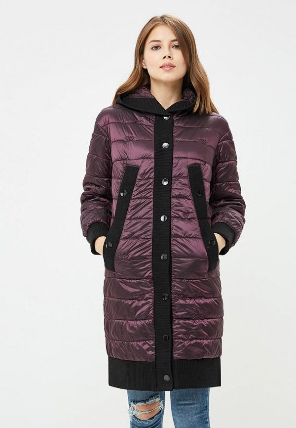 женская куртка grand style, фиолетовая