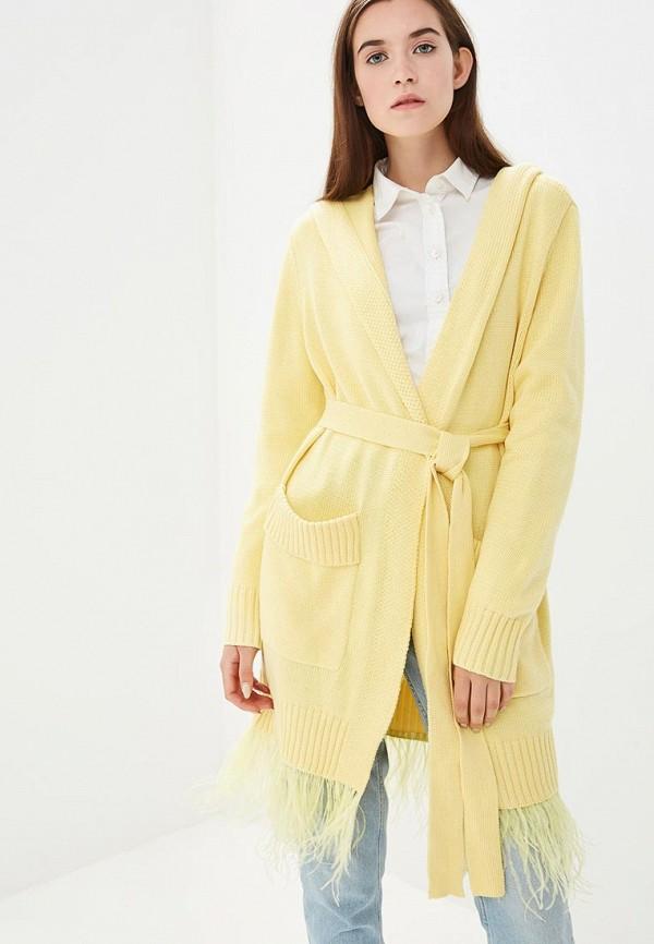 Купить Кардиган Grand Style, GR025EWCIQK9, желтый, Осень-зима 2018/2019