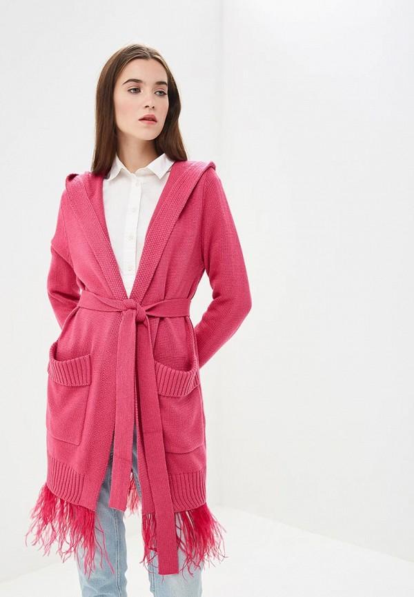 Купить Кардиган Grand Style, GR025EWCIQL1, розовый, Осень-зима 2018/2019
