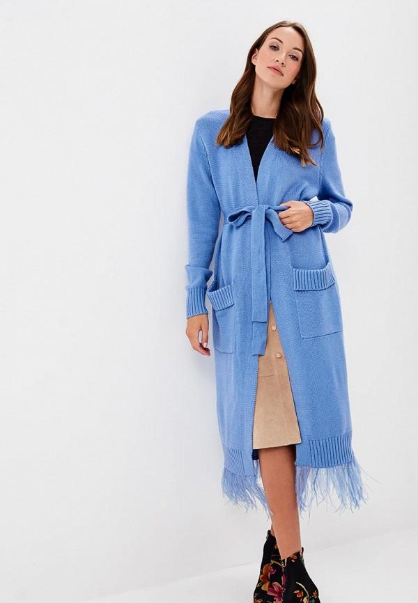 Купить Кардиган Grand Style, GR025EWCIQL4, голубой, Осень-зима 2018/2019