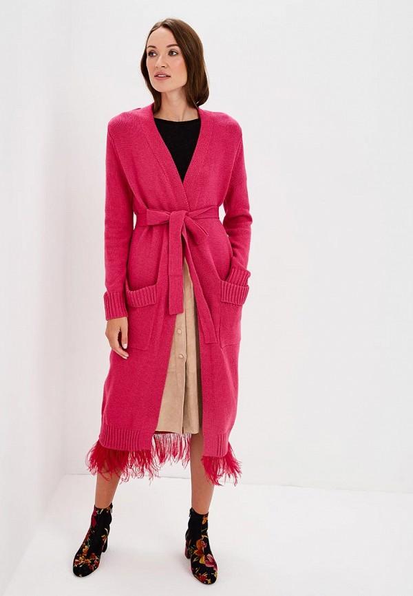 Купить Кардиган Grand Style, GR025EWCIQL6, розовый, Осень-зима 2018/2019