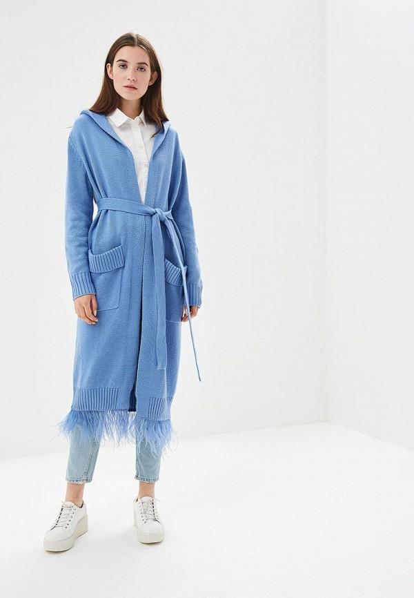 Купить Кардиган Grand Style, GR025EWCIQL7, голубой, Осень-зима 2018/2019