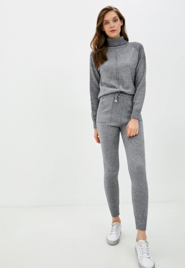 женский костюм grand style, серый