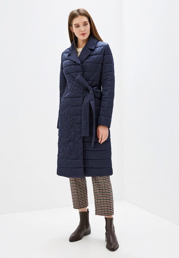 женская куртка grand style, синяя