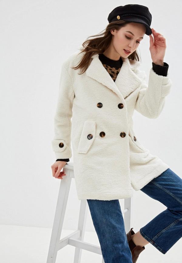 женская шуба grand style, белая