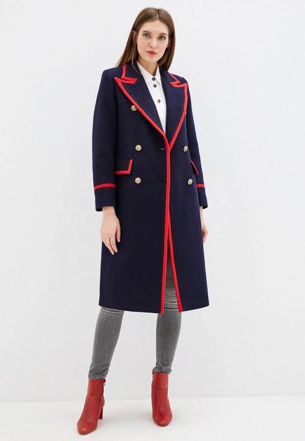 Фото - Женское пальто или плащ Grand Style синего цвета