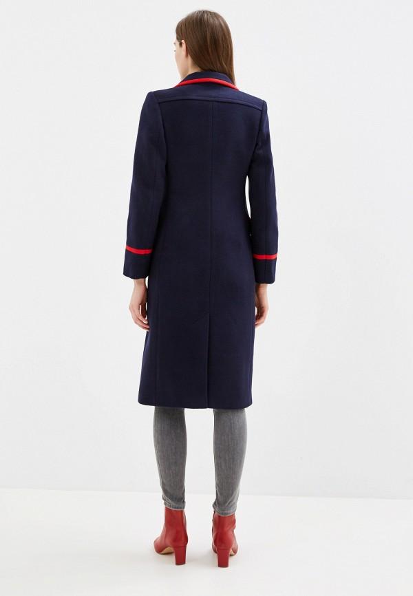 Фото 3 - Женское пальто или плащ Grand Style синего цвета