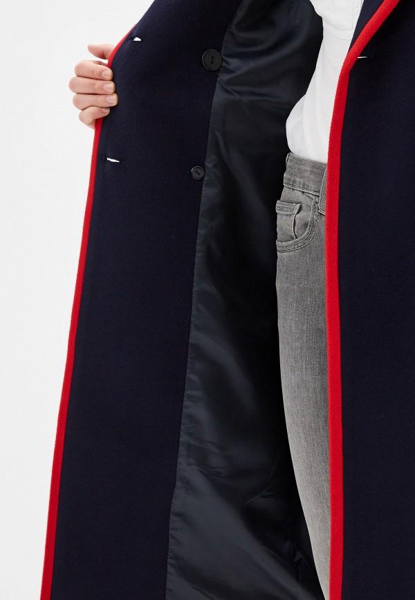 Фото 4 - Женское пальто или плащ Grand Style синего цвета