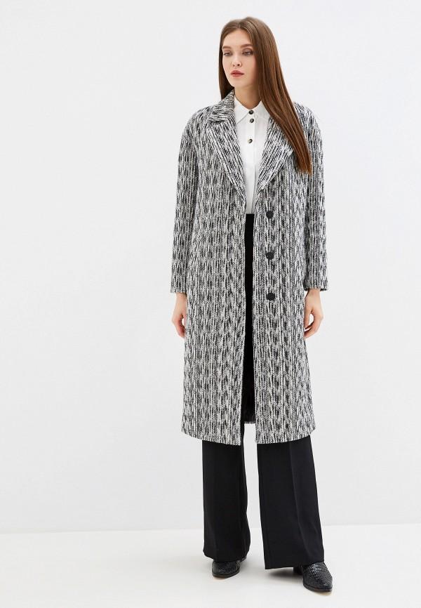 Фото - Женское пальто или плащ Grand Style серого цвета