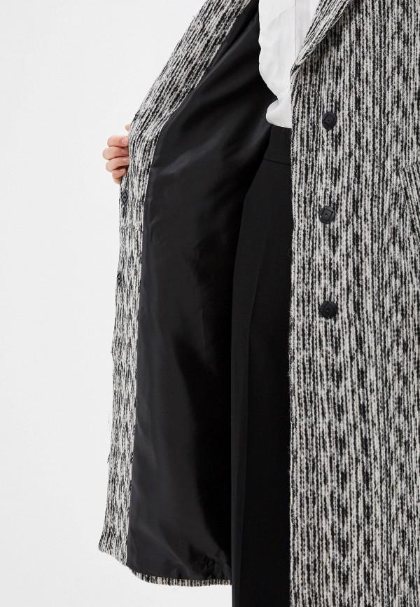 Фото 4 - Женское пальто или плащ Grand Style серого цвета