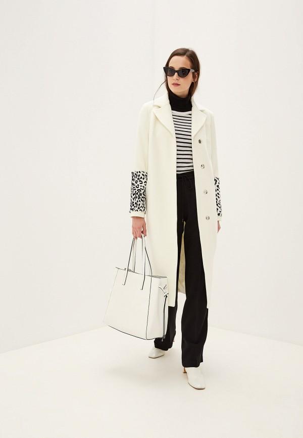 женское пальто grand style, белое
