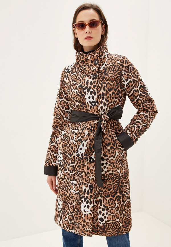 женская куртка grand style, коричневая