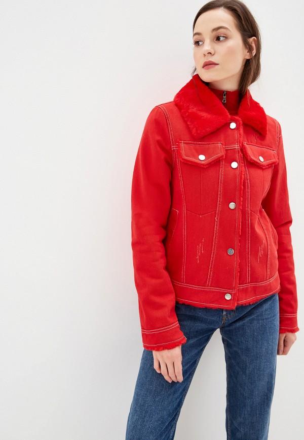 Фото - Женскую куртку Grand Style красного цвета
