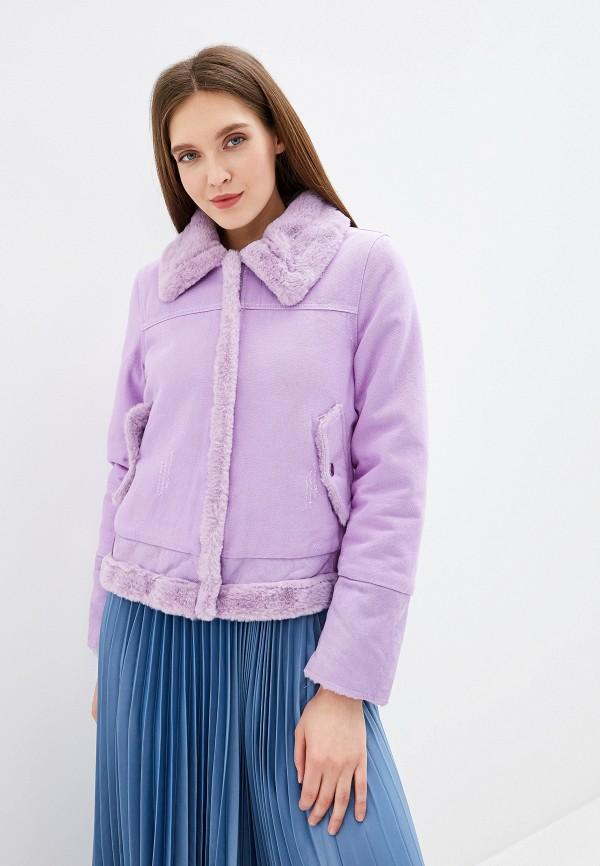 Купить Куртку джинсовая Grand Style фиолетового цвета
