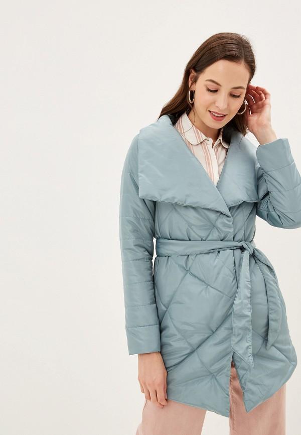женская куртка grand style, бирюзовая