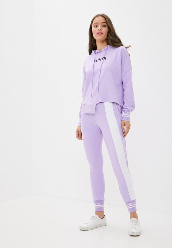 женский спортивный костюм grand style, фиолетовый