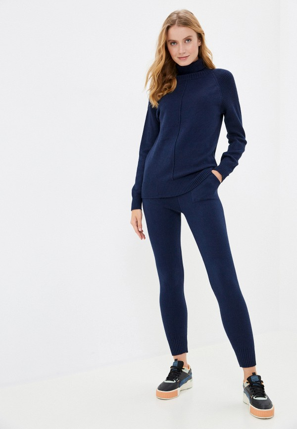 женский костюм grand style, синий