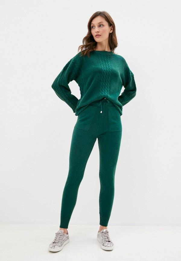 женский костюм grand style, зеленый