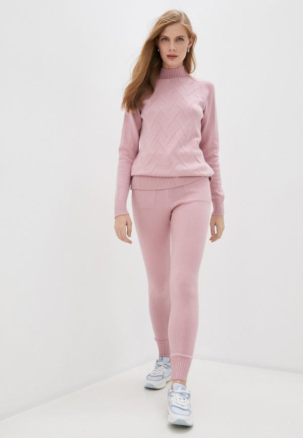 женский костюм grand style, розовый