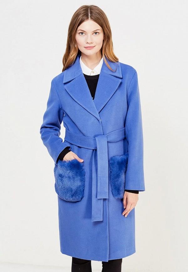 Купить Пальто Grand Style, gr025ewrre45, голубой, Осень-зима 2017/2018