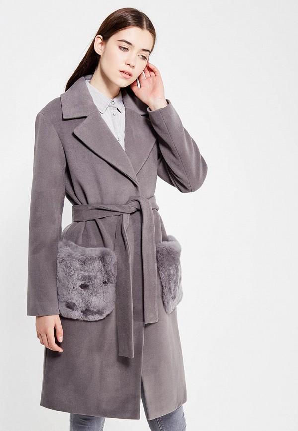 Купить Пальто Grand Style, gr025ewvit00, серый, Осень-зима 2017/2018