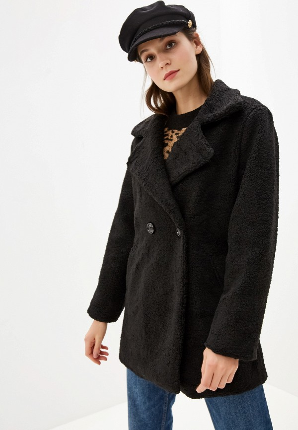 женская шуба grand style, черная